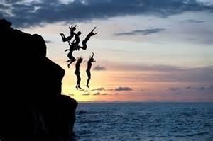 Seize the moment cliff